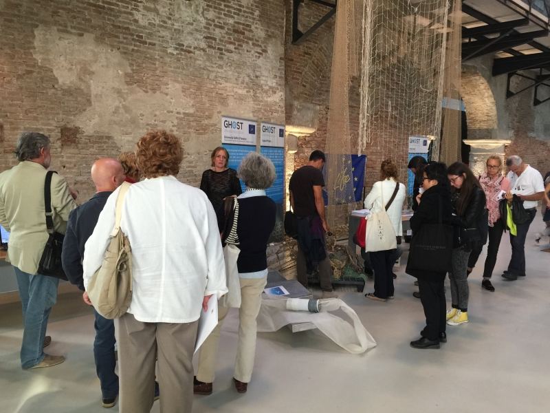 The discovery of GHOST project at Veneto Night 2015 - the European night of researchers