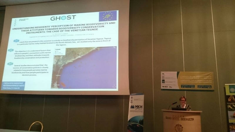 GHOST project presented at the Mediterranean Symposium on Marine Vegetation