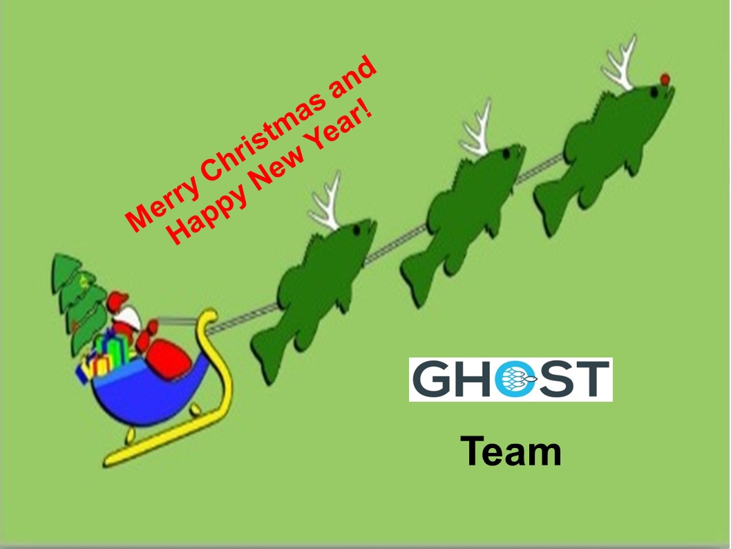 Best wishes and thanks from the GHOST team