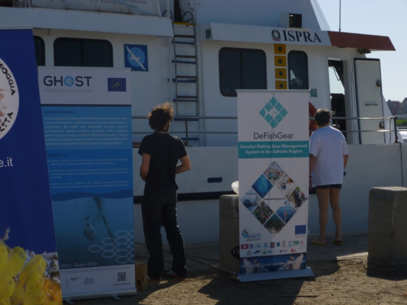 "GHOST project participate at the ""Clen Seabeds"" initiative"